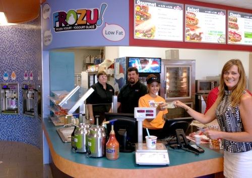 FROZU's first customer in Truro, Nova Scotia. (TruCorp)